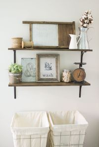 Best 25+ Laundry room shelves ideas on Pinterest