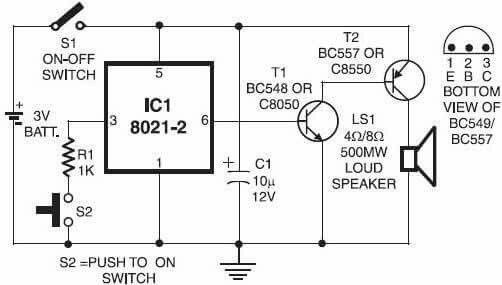 led intensity controller circuit electronic circuit projects