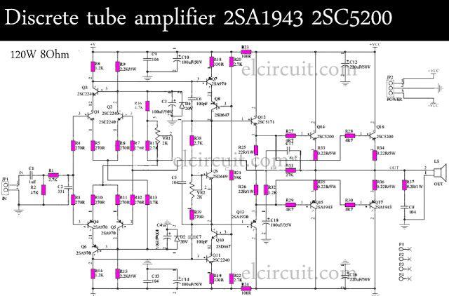 power ampli circuit using upc1188h