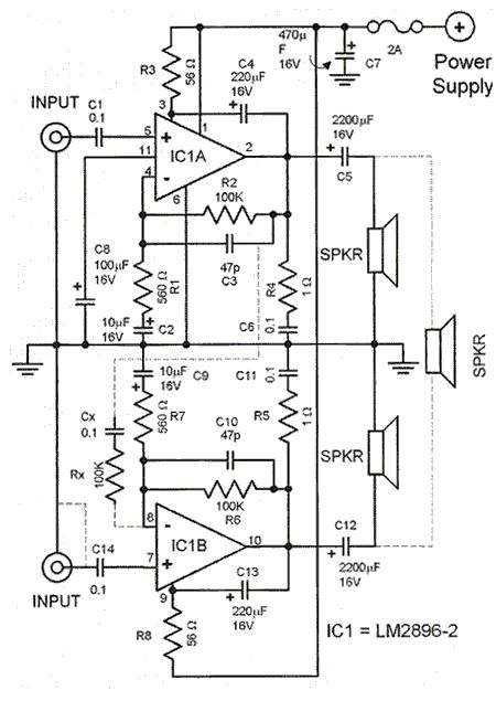 car stereo amplifier wiring