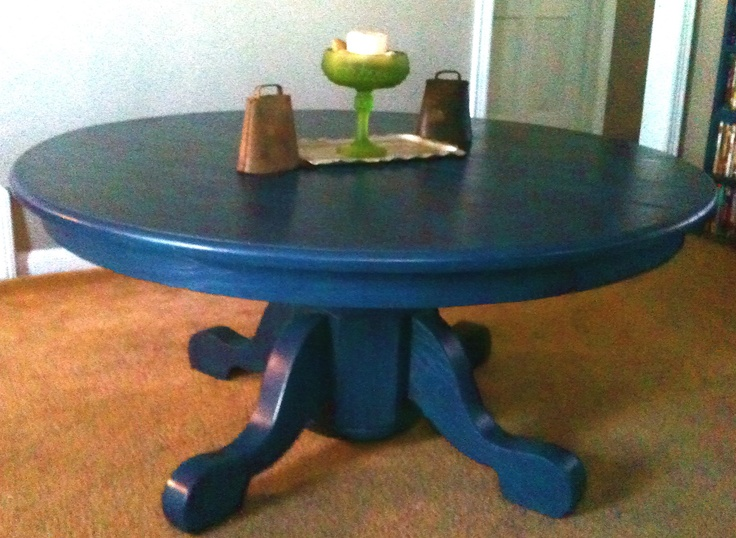 A Kitchen Table We Cut Down To Make Into A Coffee Table. Sanded