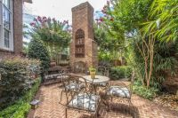 Heidi Newfield's backyard patio with outdoor seating and ...