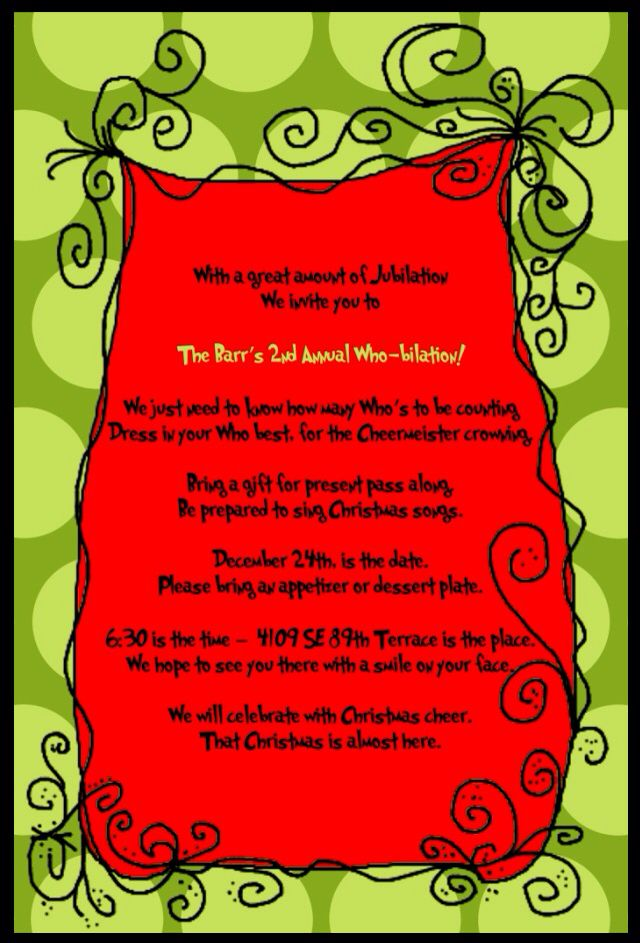 Invitation Template Christmas Party Whobilation Invitation | Christmas | Pinterest | Invitations