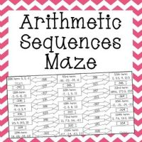 Arithmetic And Geometric Sequences Worksheets 6th Grade ...