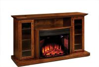 """Amish 64"""" Electric Fireplace Entertainment Center ..."""