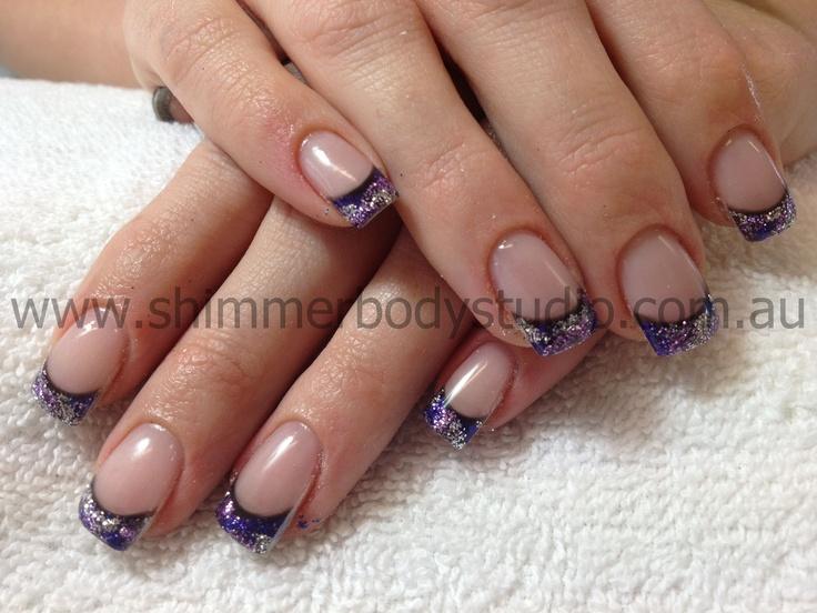 Gel Nails Glitter Nails Nail Art Nails Colour Or