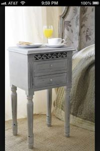17 Best images about night stands on Pinterest | Silver ...