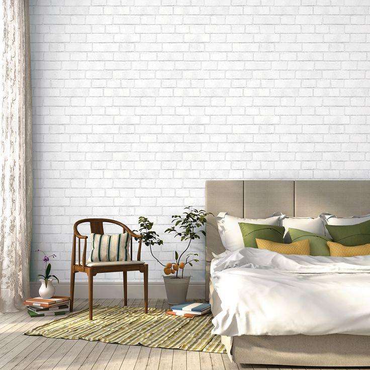 3d Effect Stone Brick Wall Textured Vinyl Wallpaper Self Adhesive Best 25 White Brick Wallpaper Ideas On Pinterest 3d