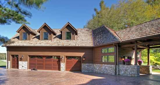 Detached Garage With Breezeway A Need For More Garage Inspires A Wing Addition To A