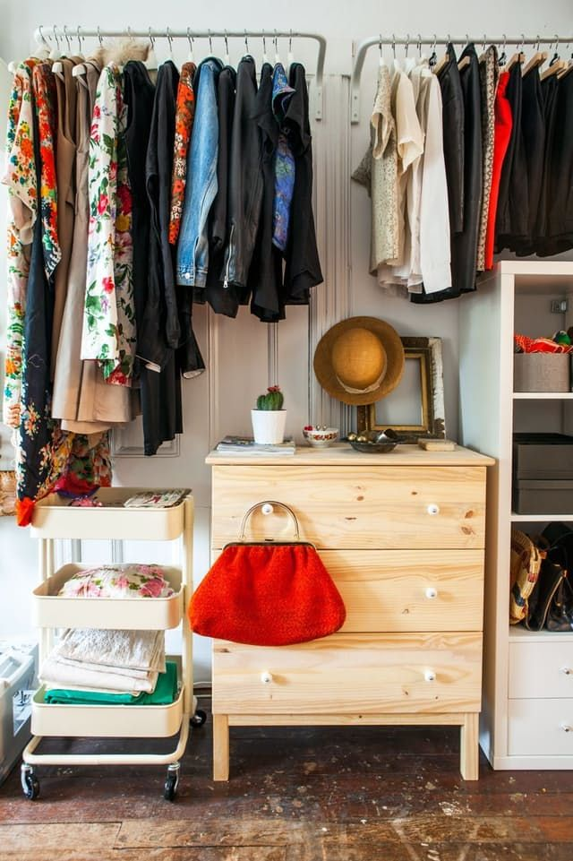 Bedroom Clothes Storage 25+ Best Ideas About No Closet Solutions On Pinterest | No