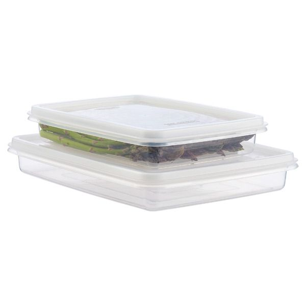 Shallow Food Keeper D Storage And Plastic