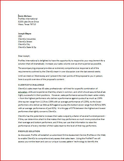 Sample Business Proposal Letter Deiric Mccann Best 25 Sample Business Proposal Ideas On Pinterest