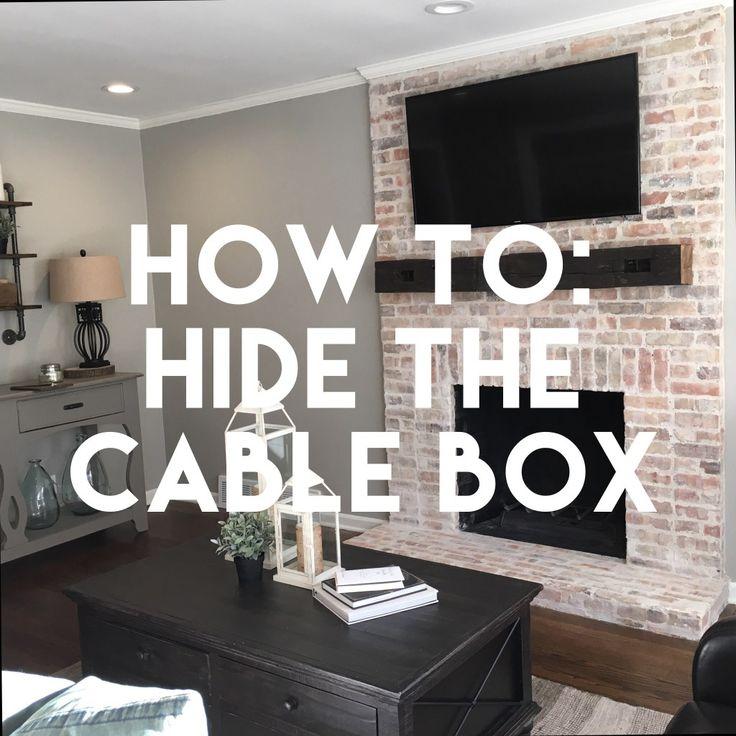 25 Best Ideas About Hide Cable Box On Pinterest Hiding