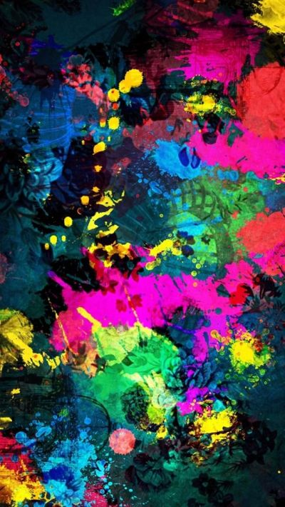 Beautiful Fantasy Colorful Art Abctract iPhone 5 HD Wallpapers | Lugares para visitar ...