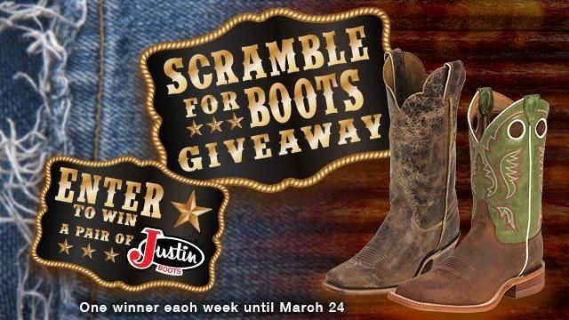 Enter To Win A Pair Of Justin Boots Kprc Is Giving Away