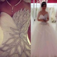 2016 Sexy Princess Bling Bling Wedding Dresses Backless ...