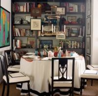 library dining room | Office dining room combo | Pinterest ...
