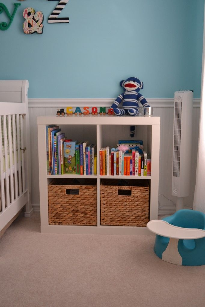Colorful Gender Neutral Nursery Cubes Look At And