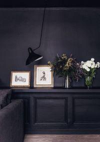 25+ best ideas about Dark interiors on Pinterest | Black ...