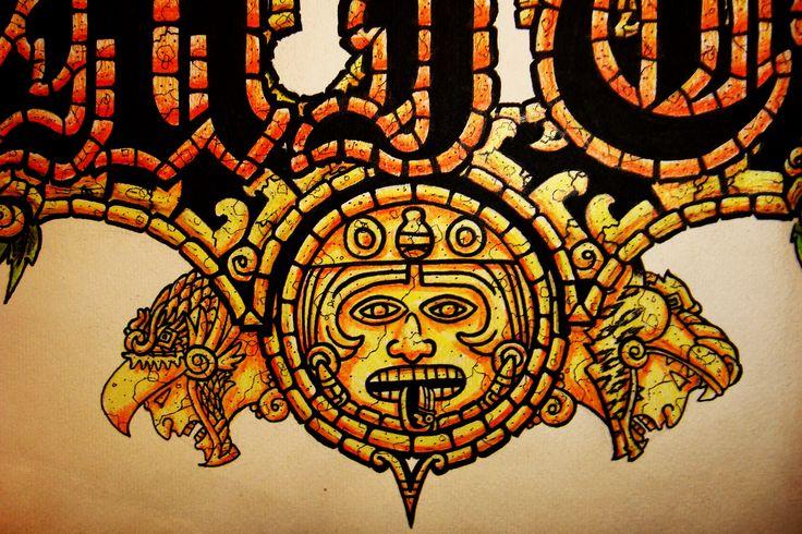 Ak 47 Iphone Wallpaper Fantasy Aztec Wallpaper Aztec Pinterest Desktop