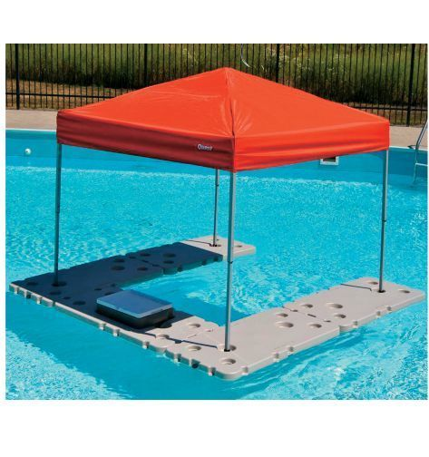 Floating Shade Canopy Table River Pool Lake Party Cooler
