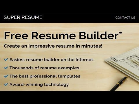 17 Best Ideas About Free Online Resume Builder On Pinterest