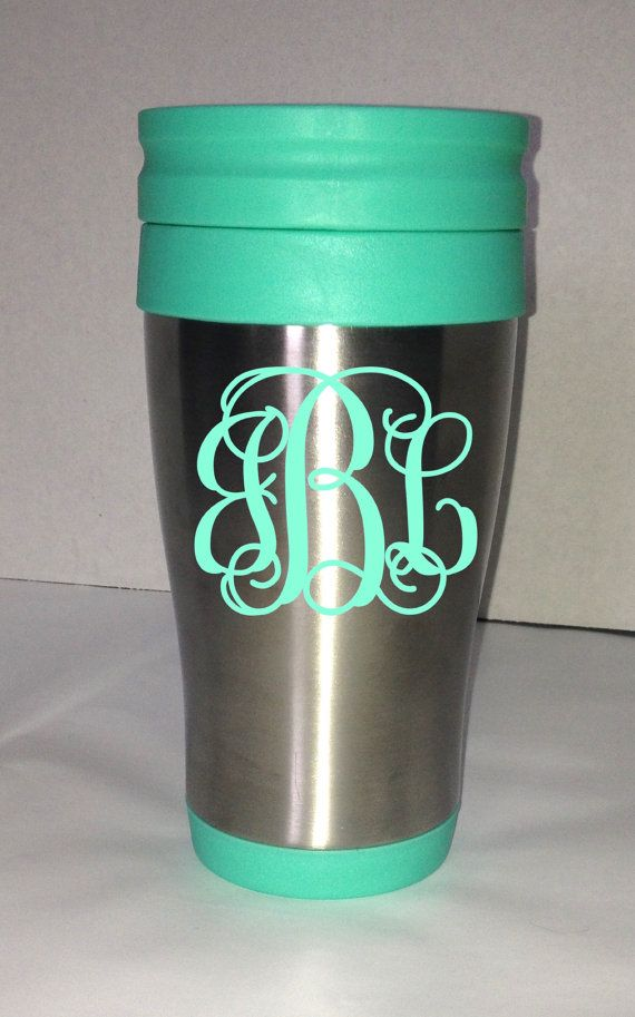 monogramed mugs