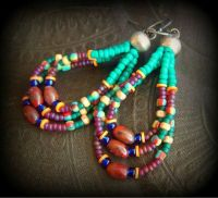 9 best images about earring loops on Pinterest | Beaded ...