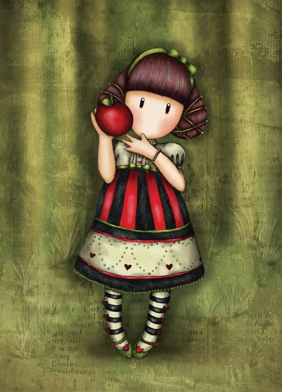 Fall Apples Wallpaper Gorjuss Girls Woolcott Gorjuss Gorjuss Art Mu 241 Ecas Gorjuss