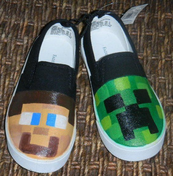 +1000 ideias sobre Minecraft Shoes no Pinterest