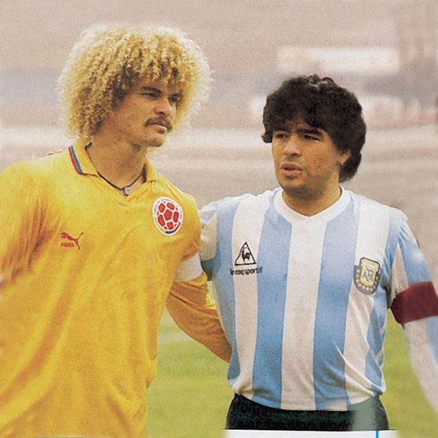 Messi Wallpaper Iphone 6 Maradona Y Valderrama Soccer Legends Pinterest