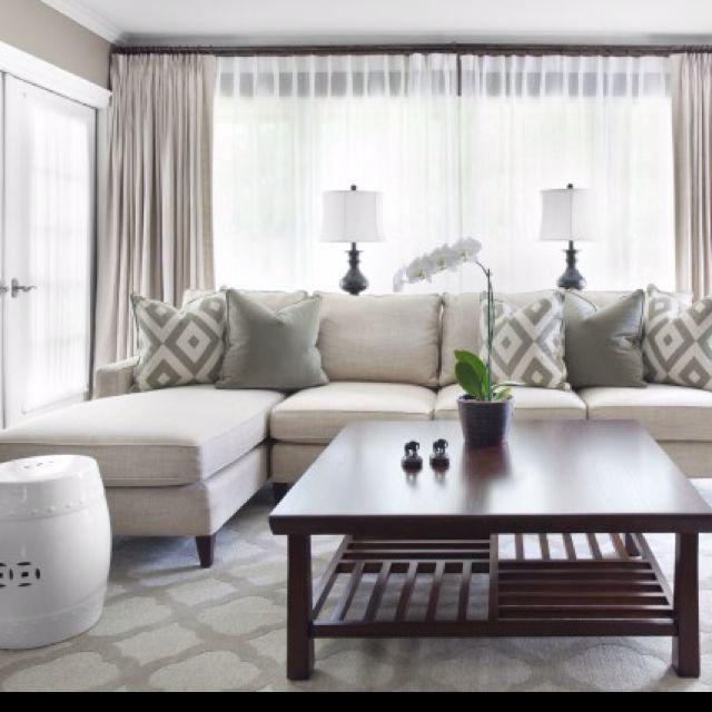 Best 20+ Living room curtains ideas on Pinterest