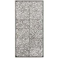 Metal & Rattan Wall Decor - Large | Pier 1 Imports | Wall ...