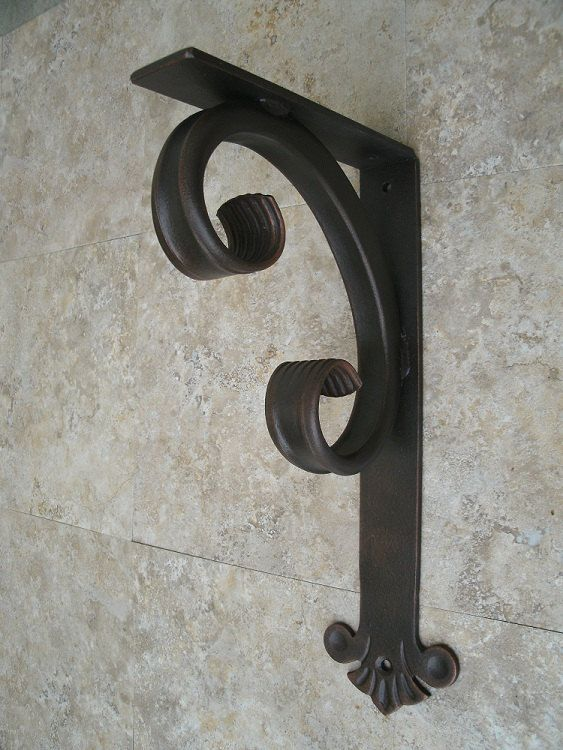 Hand Crafted Decorative Heavy Duty Wrought Iron Angle