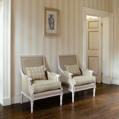 25+ best ideas about Striped wallpaper on Pinterest | Stripe wallpaper, Interior design for hall ...