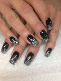 The gallery for --> Black And Silver Nails Pinterest