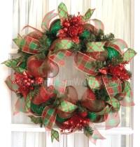 17 Best images about Wreaths on Pinterest | Deco mesh ...