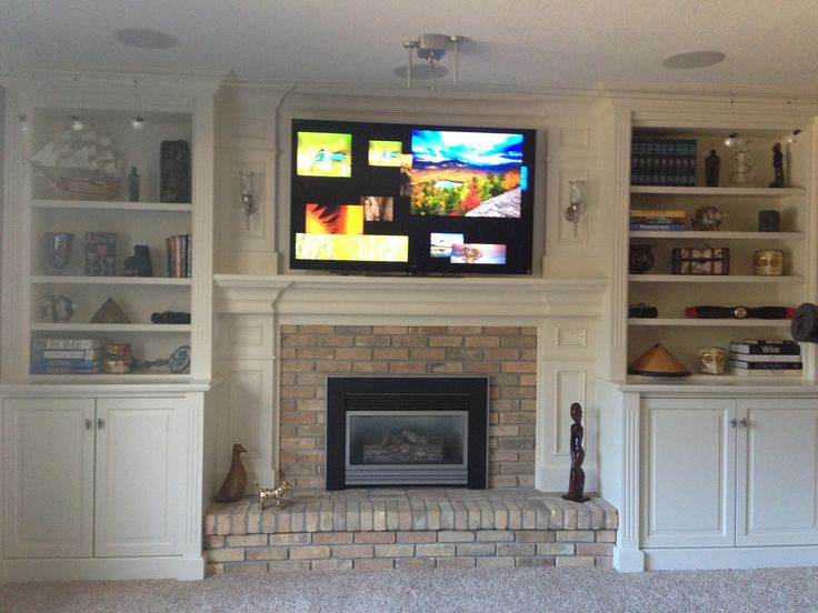 Top 25 ideas about Living Room Bookshelves {ideas} on