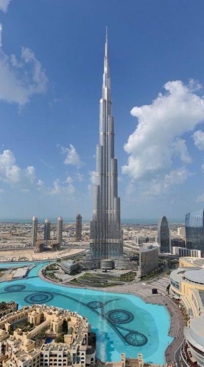 You'll see Dubai from above on the observation deck of the Burj Khalifa, the world's tallest ...