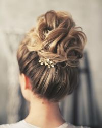 17 Best ideas about Wedding Updo on Pinterest