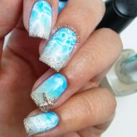25+ best ideas about Blue Wedding Nails on Pinterest ...