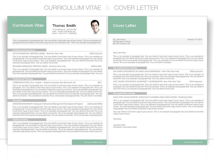 Curriculum Vitae Cv Templates Resume World 60 Best Images About Ms Word Resume Templates On Pinterest