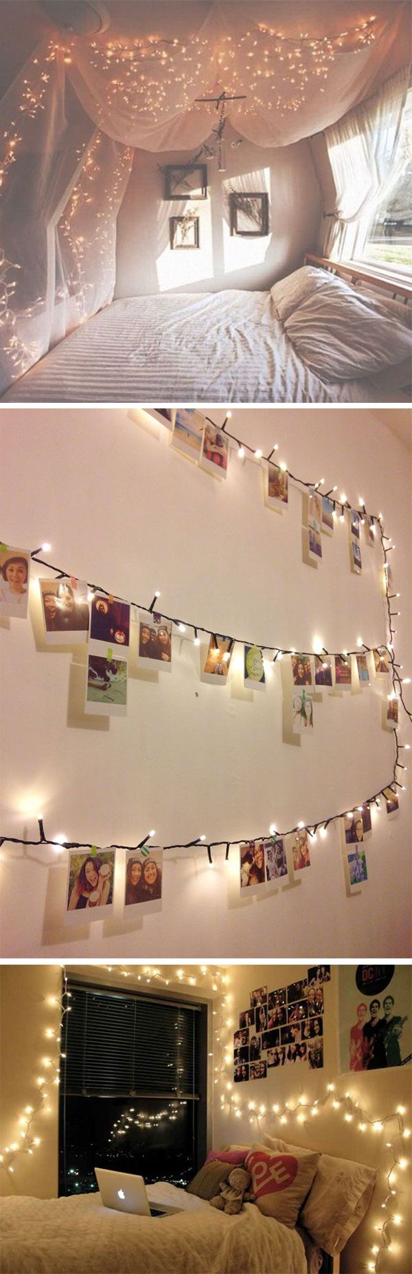 13 ways to use fairy lights to make your home look magical room decor diy