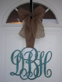 1000+ ideas about Monogram Door Decor on Pinterest ...