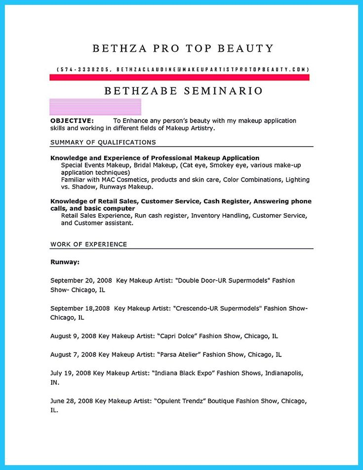 Artist Resume Templates 45 Creative Resumes To Seize Attention - artist resume