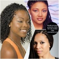 80 best images about MICRO BRAIDS on Pinterest | Curled ...