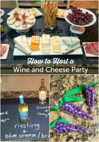 How To Host A Wine & Cheese Party | Revel and Glitter ...