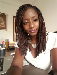 The gallery for --> Shoulder Length Box Braids