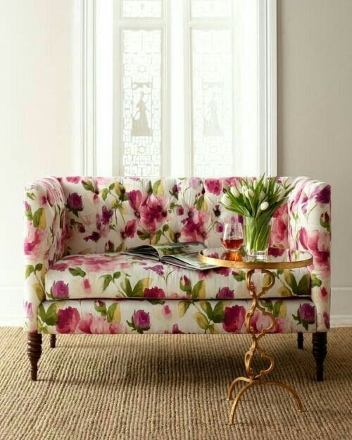 25+ best ideas about Floral couch on Pinterest