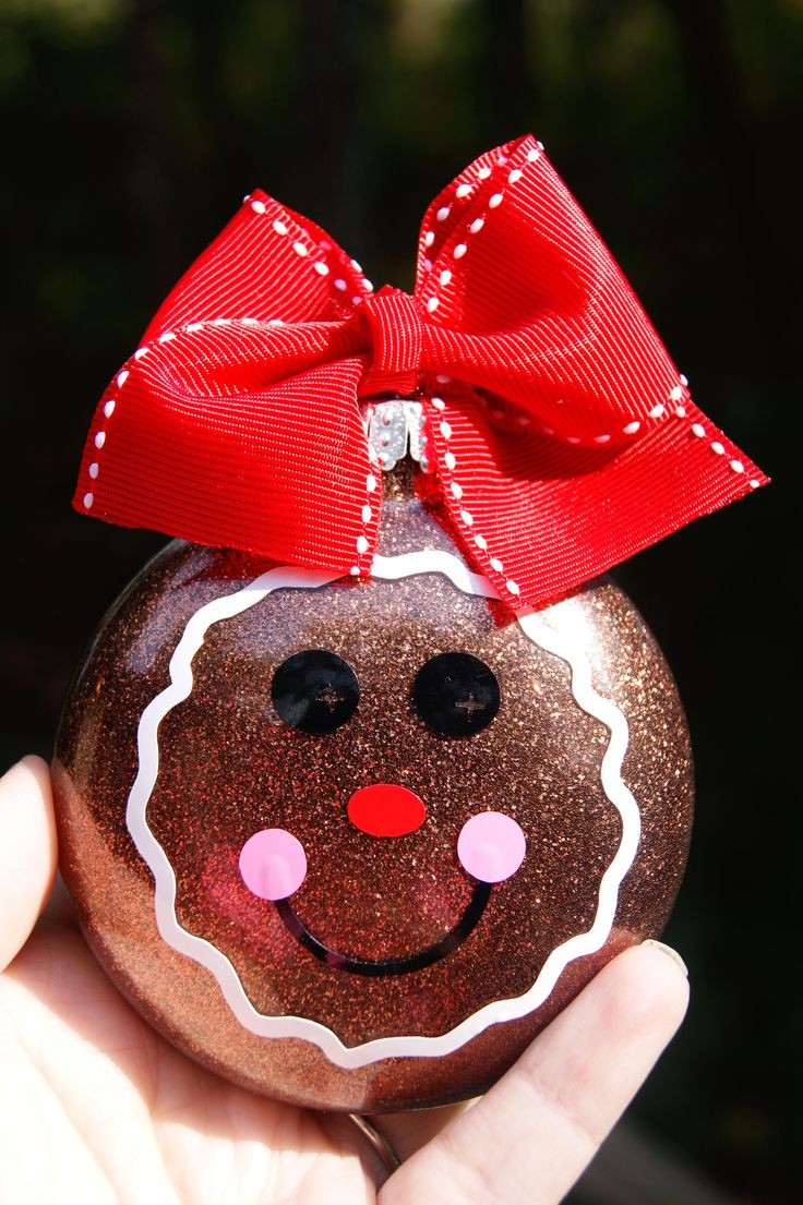Gingerbread girlie this would also be cute as a gingerbread man and snowman and snowwoman